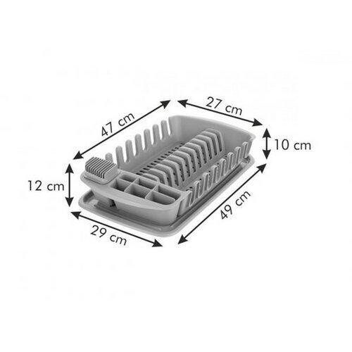 Tescoma CLEAN KIT csepegtető tálcával, szürke