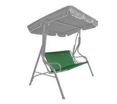 Happy Green Siedzisko tekstylne na huśtawkę ogrodową Stripy