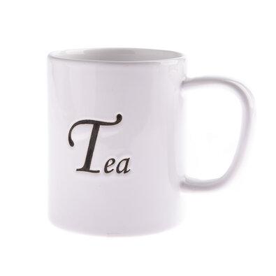 Keramický hrnek Tea 380 ml, bílá