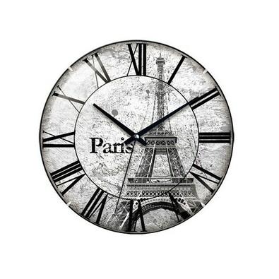 Nástěnné hodiny Paris 31 cm