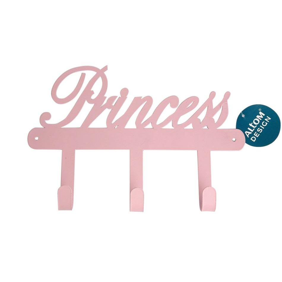 Altom Kovový vešiak Princess, 25 x 2 x 20 cm