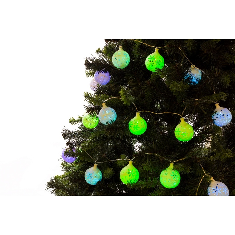 Ledko Světelný řetěz Kuličky 20 LED, barevný