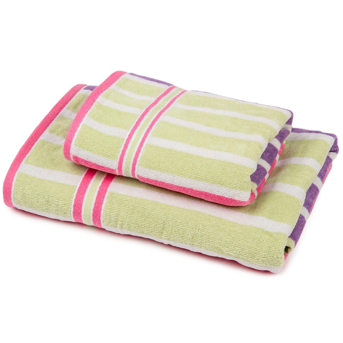 Jahu Sada Stripes Fine ručník a osuška, 70 x 140 cm, 50 x 90 cm