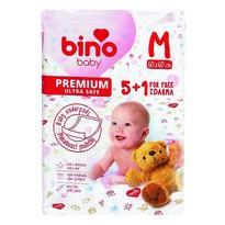 Bino Baby Prebaľovacia podložka Premium M 6 ks, 60 x 60 cm