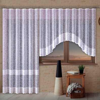Záclona Martina, 300 x 140 cm