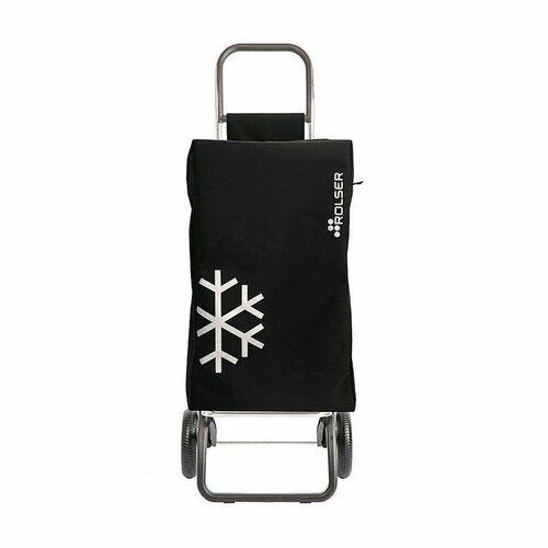 Rolser Igloo Termo MF RG nákupní taška na kolečkách, černá