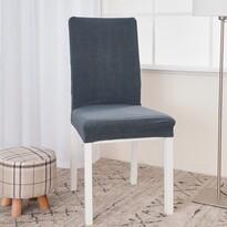 Husă multielastică impermeabilă 4Home, de scaunMagic clean gri închis, 45 - 50 cm, set 2 buc.