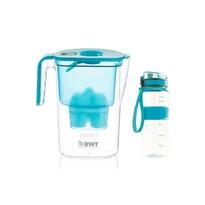 BWT Dzbanek filtrujący Vida 2,6 l, niebieski i prezent outdoor butelka sportowa