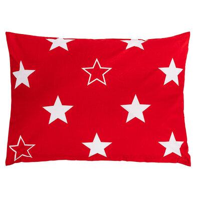 Față de pernă 4Home Stars red,50 x 70 cm
