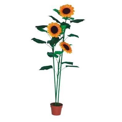 Umělá květina slunečnice 150 cm