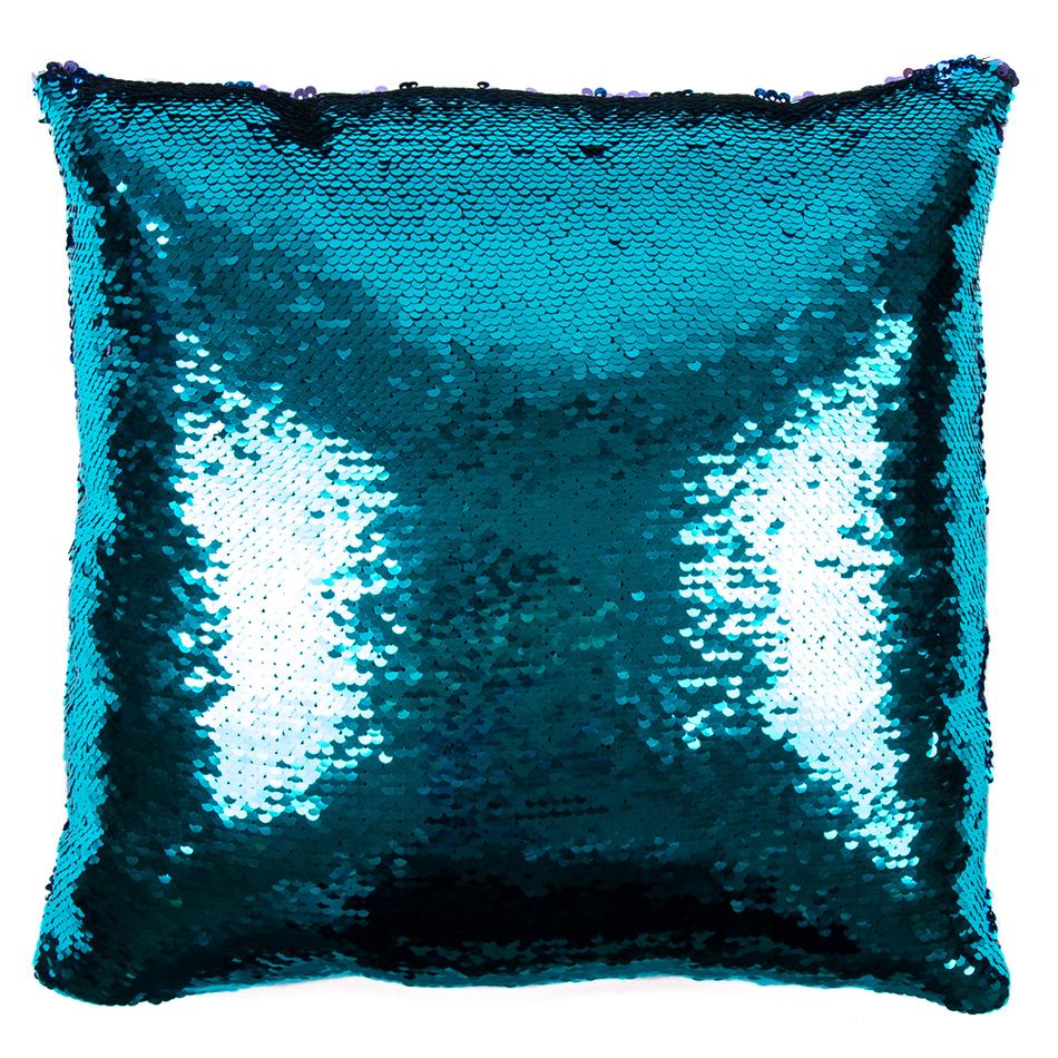 JAHU Povlak na polštářek Magic tyrkysová, 40 x 40 cm