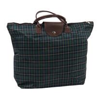 Skládací taška Kostka, tmavě zelená