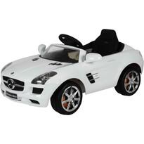 Buddy Toys BEC 7110 Elektrické autíčko Mercedes Benz SLS, biela
