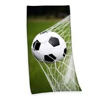 Ręczni kąpielowy Football, 75 x 150 cm