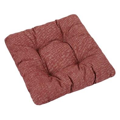 Sedák Ivo červená režná, 40 x 40 cm, sada 2 ks