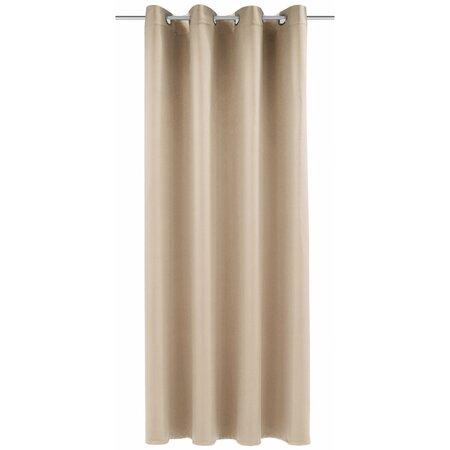 Mia sötétítő függöny, bézs, 140 x 245 cm
