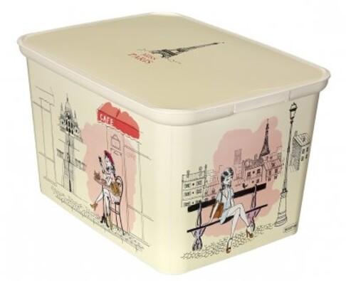 Curver AMSTERDAM Miss Paris úložný box velký