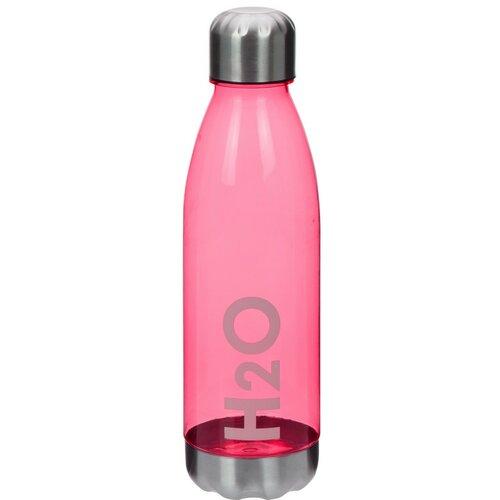 Sportovní láhev s nerezovým víčkem 700 ml, červená