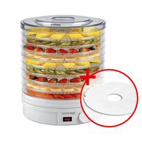 Concept SO-1020 elektrická sušička ovoce + dárek sušící síto na bylinky