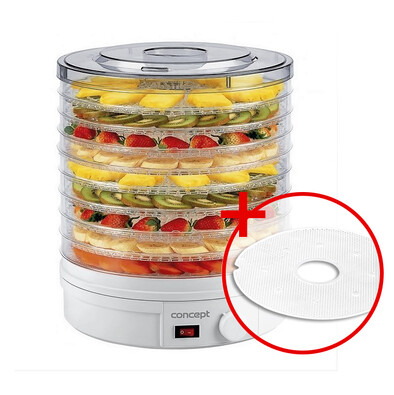 Concept SO-1020 elektrická sušička ovocia + darčeksušiace sito na bylinky