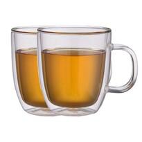"""Maxxo """"Extra Tea"""" 2dílná sada termo skleniček, 480 ml"""