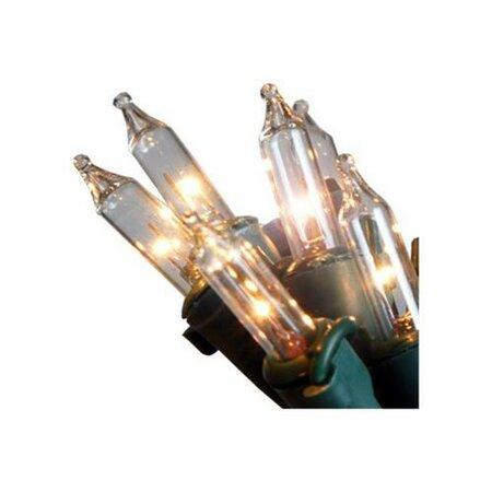 Lampki zewnętrzne przezroczysty, 80 żarówek