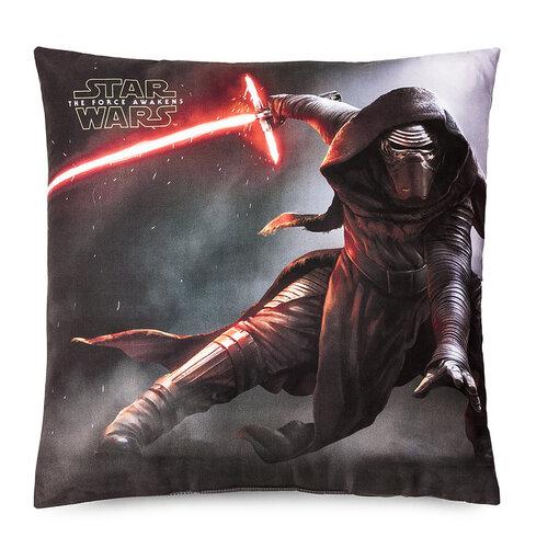 Jerry Fabrics Vankúšik Star Wars VII, 40 x 40 cm