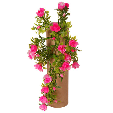 Umělá Růže růžová, 30 cm