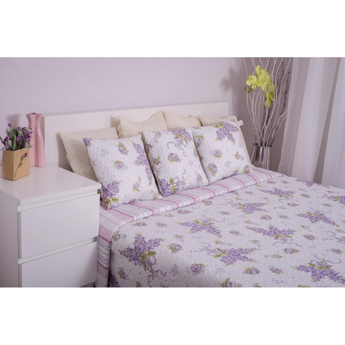 Domarex Přehoz na postel Levandulová zahrada, 220 x 240 cm
