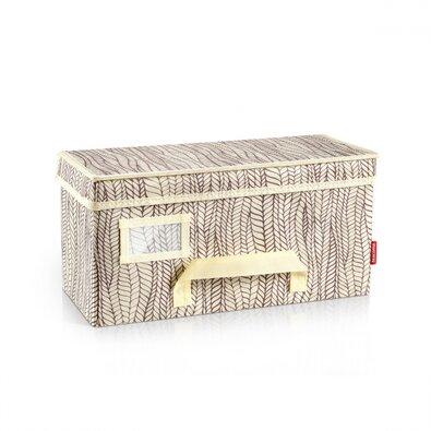 Tescoma Krabica na odevy Fancy Home, 40 x 18 x 20 cm, prírodná