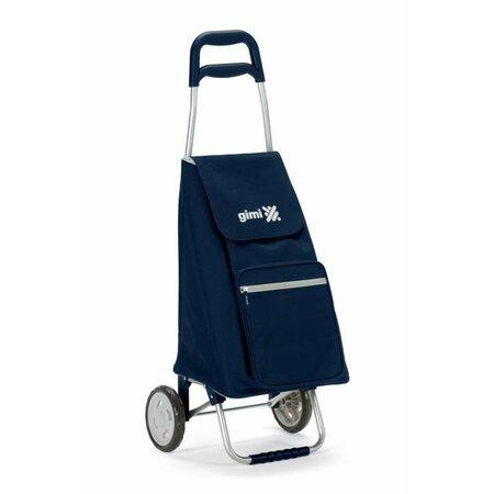 Gimi Argo kerekes bevásárlótáska, kék, 45 l