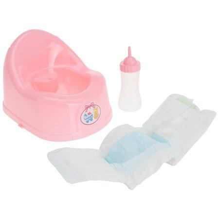 Set jucării pentru copii Baby care, 17 cm