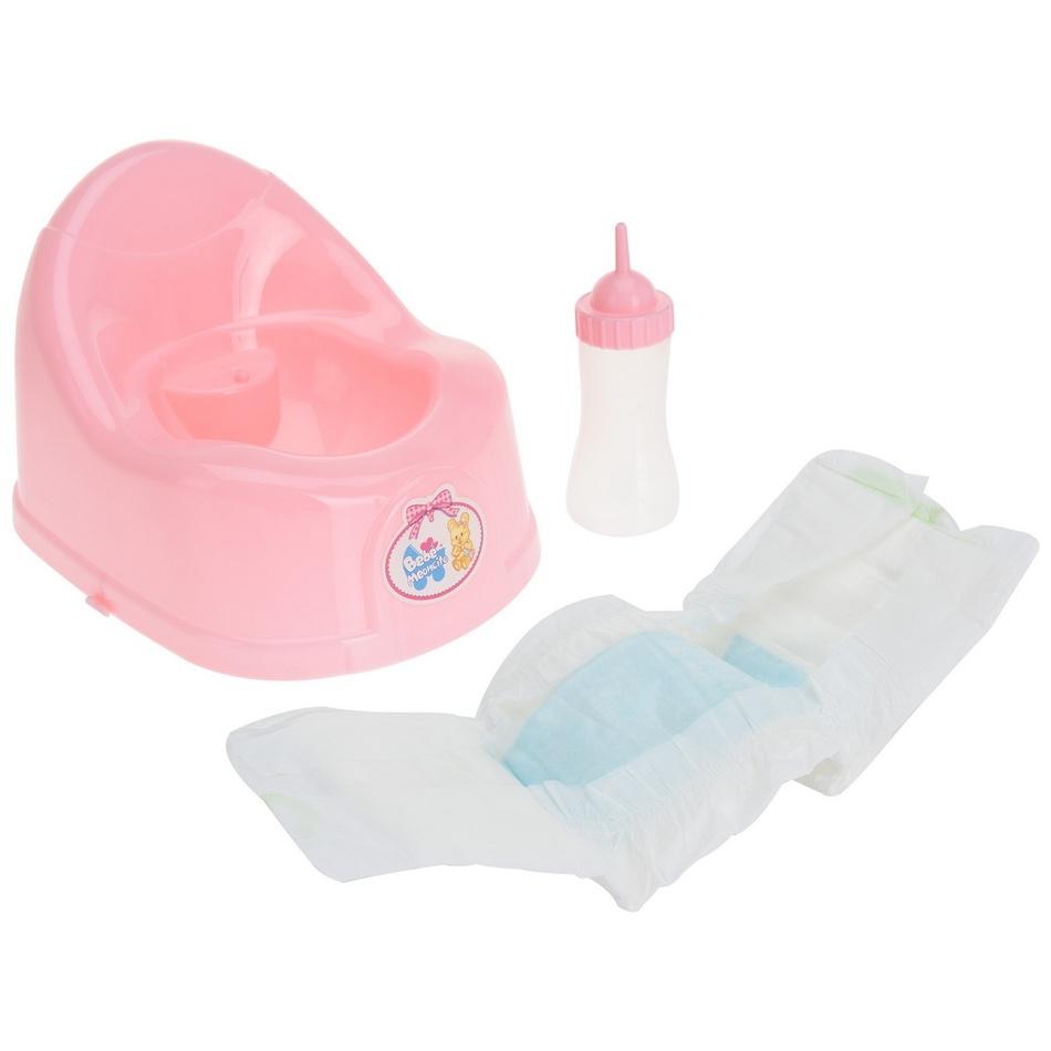 Fotografie Dětský hrací set Baby care, 17 cm