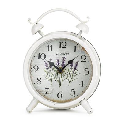 Stolní hodiny Levandule