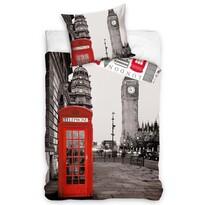 Bavlnené obliečky Večerný Londýn, 140 x 200 cm, 70 x 90 cm