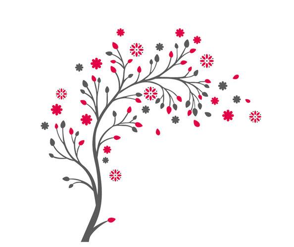 Samolepiaca dekorácia Vonný kvet