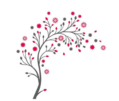Samolepicí dekorace Vonný květ