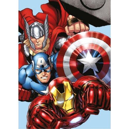 Jerry Fabrics Dětská deka mikroplyš Avengers, 100 x 140 cm