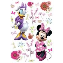 Samolepicí dekorace Minnie a Daisy, 42,5 x 65 cm