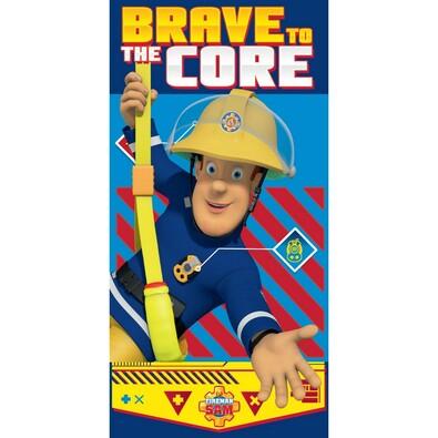 Osuška Požárník Sam Brave to the Core, 70 x 140 cm