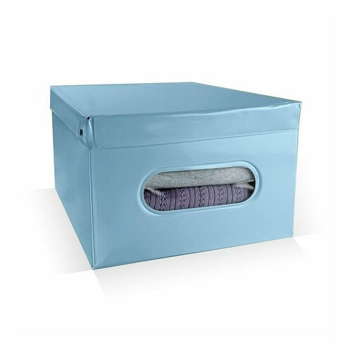 Compactor Nordic tárolódoboz, 50 x 38,5 x 24 cm,kék