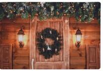 Covoraș Christmas Door, 38 x 58 cm
