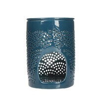 Altom Porcelánová aromalampa Lucy 8,5 x 11,5 cm, modrá