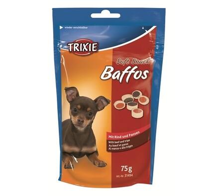 Trixie Soft Snack Baffos mini kolečka hovězí, dršť