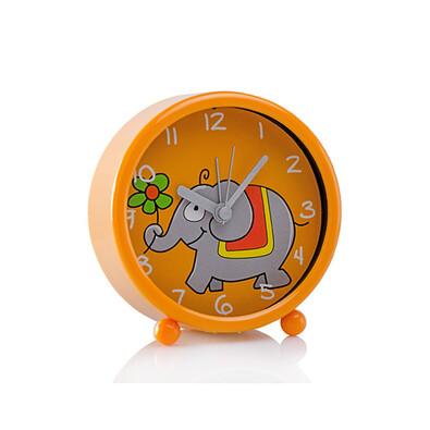 Budík sloník, oranžová