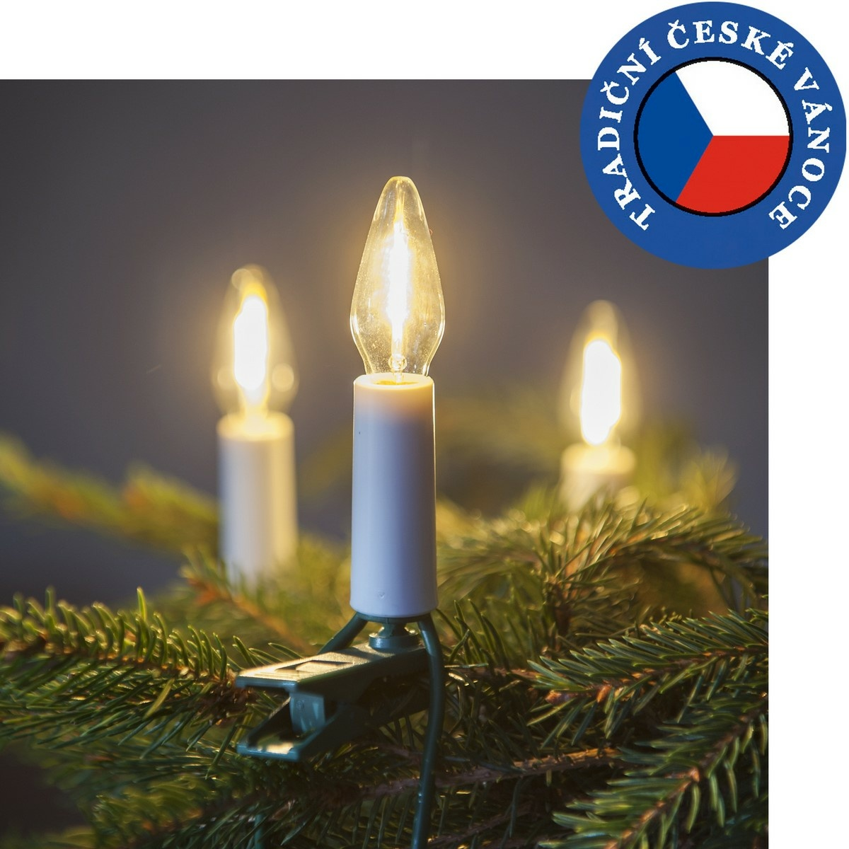 Produktové foto Souprava Felicia MONO LED Filament čirá SV-16, 16 žárovek