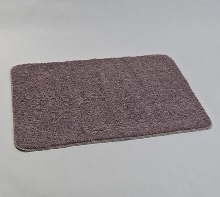 Koupelnová předložka, 60 x 90 cm, šedá
