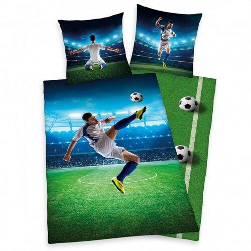 Herding Bavlnené obliečky Football, 140 x 200 cm, 70 x 90 cm