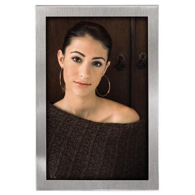 Portrétový rámeček Bristol 15x20 cm stříbrná