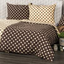 Lenjerie pat 1 pers. 4Home Buline Ciocolată